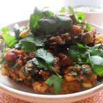 Gluten-Free & Dairy-Free Spicy Cauliflower Fritters