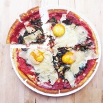 Gluten-free and Dairy-free Thin Crust Florentine Pizza