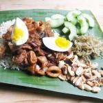 Leemei Tan's Gluten-Free & Dairy-Free Malaysian Coconut & Lemongrass–Scented Rice with Squid Sambal
