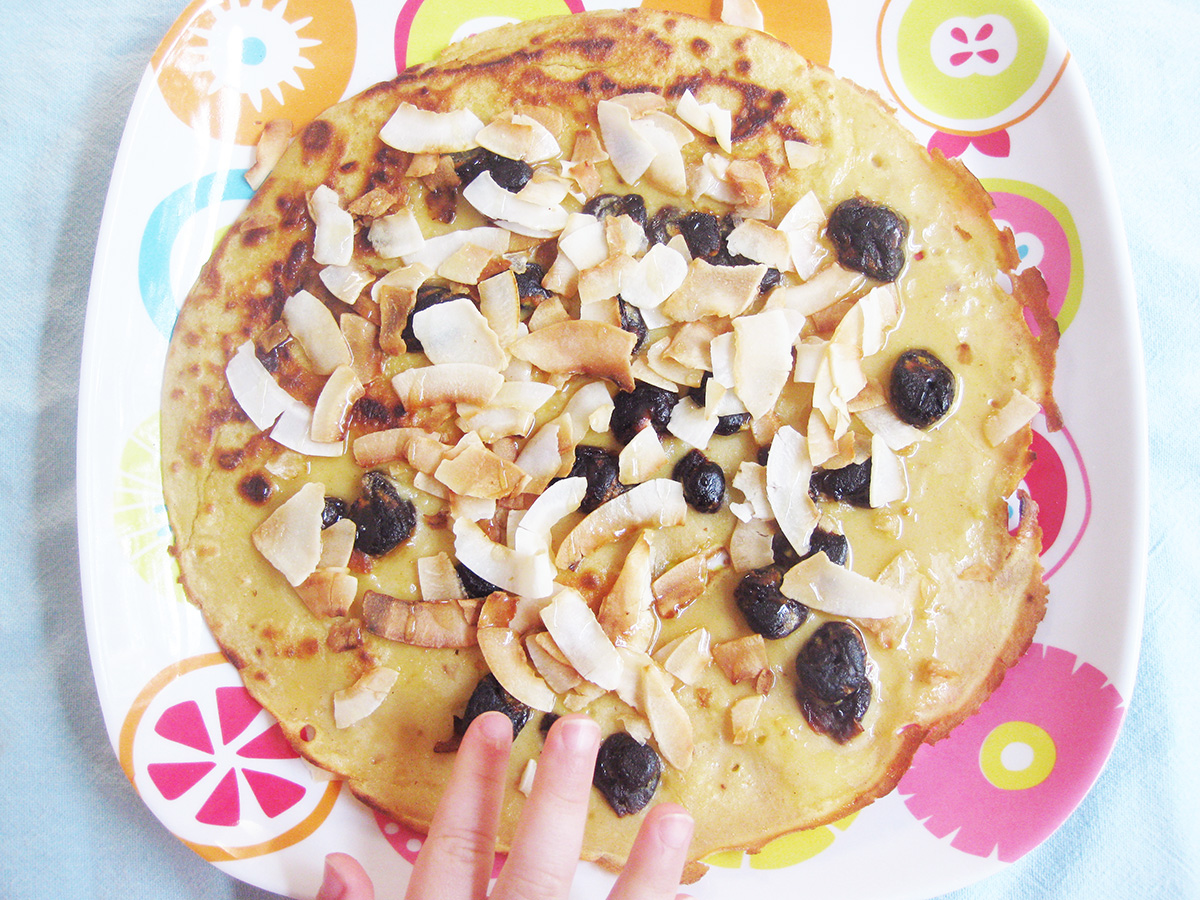 gluten-free_dairy-free_cherry_coconut_pancakes