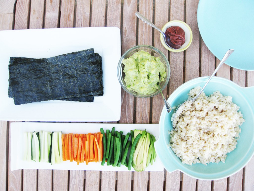 Gluten-Free & Dairy-Free Sushi from Renée Elliott's Me, You & the Kids, Too