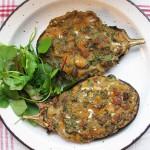 Gluten-Free & Dairy-Free Roasted Aubergine with Amaranth & Harissa