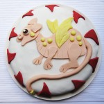Gluten-Free & Dairy-Free Birthday Dragon Cake