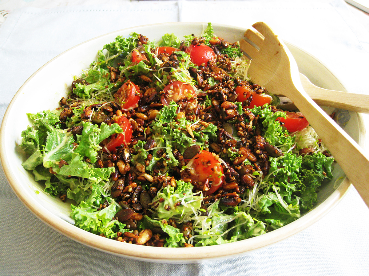 Gluten-Free_Dairy-Free_Kale_Toasted_Seeds_Salad
