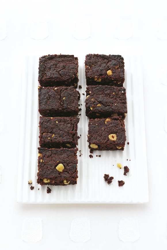 Gluten-Free & Dairy-Free Chocolate & Hazelnut Brownies