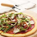 Gluten-Free & Dairy-Free Parma Ham & Rocket Pizza