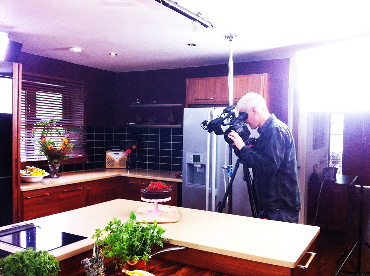 waitrose_free_from_filming_gluten-free_dairy-free_chocolate_cake_being_shot