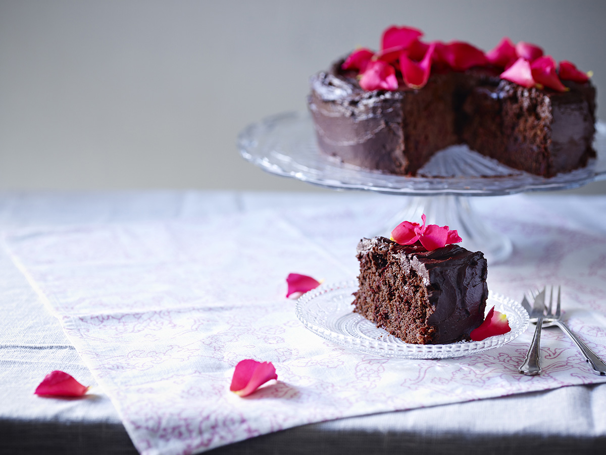 Groovy Gluten Free Dairy Free Chocolate Beetroot Cake Grace Cheetham Funny Birthday Cards Online Bapapcheapnameinfo