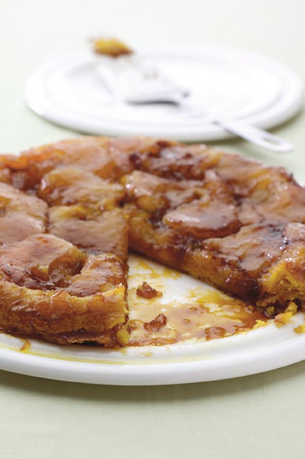 Gluten free dairy free tarte tatin
