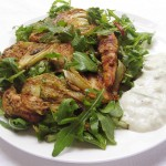 Gluten-Free & Dairy-Free Chicken & Fennel Salad with Tzatziki