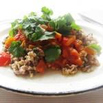 Gluten-Free & Dairy-Free Detox Persian Rice with Tomato & Saffron Sauce