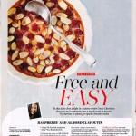 Gluten-Free & Dairy-Free Raspberry & Almond Clafoutis – in Hello! Magazine