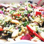 Gluten-Free Buckwheat, Butterbean & Roasted Vegetable Salad
