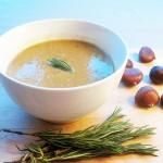 Gluten-Free & Dairy-Free Chestnut & Pancetta Soup