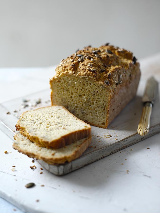 Gluten-Free & Dairy-Free Seedy Bread