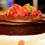 Free From Filming Gluten-Free & Dairy-Free Chocolate Cake for Waitrose