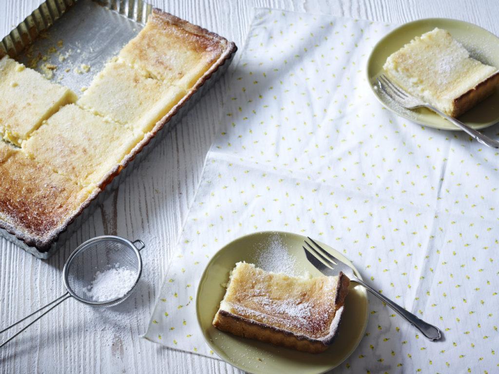 gluten free, dairy free, lemon tart