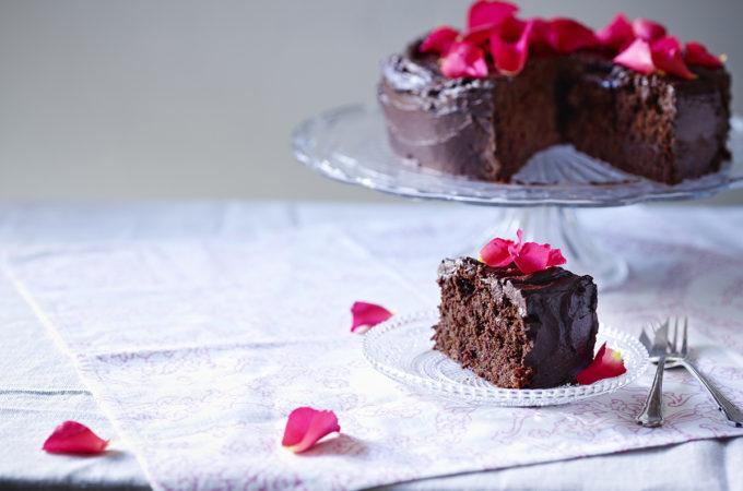 Gluten free dairy free chocolate beetroot cake